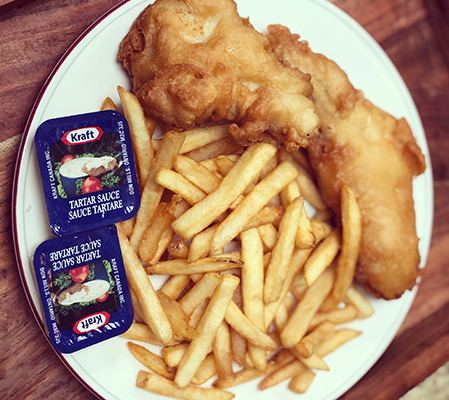 Every Dine In Experience Needs Fish And Chips By The Summit Cafe