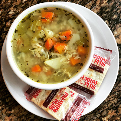Just One Of Our Special Soups Great For Any Time Of Year Made Fresh By The Summit Cafe
