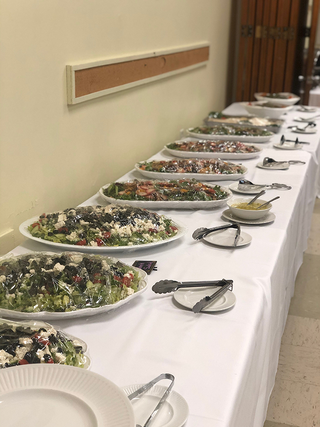 More Than A Salad Bar From Your Caterer Of Choice Catering By The Summit Cafe