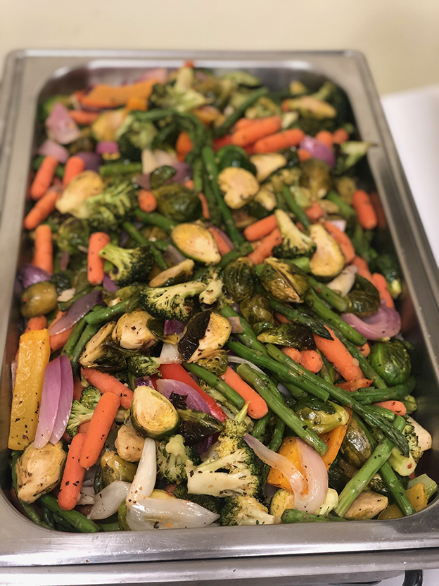 We Dont Do Plain Boiled Vegetables Catering By The Summit Cafe